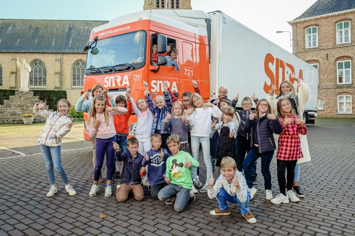 SITRA teaches pupils Ieper about 'Safety on the Road'